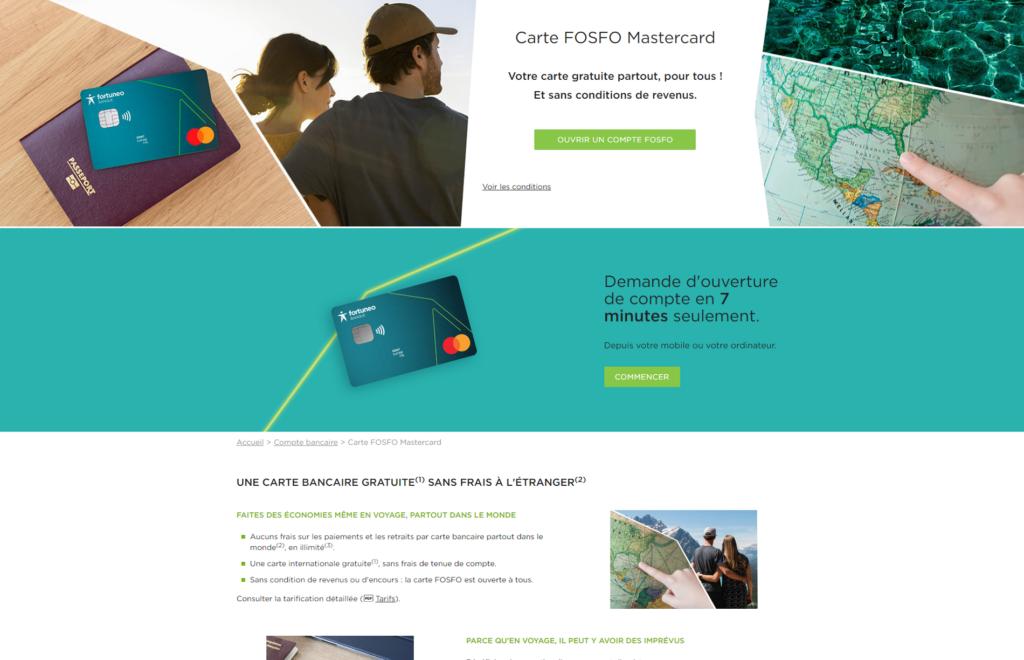 L'offre FOSFO débarque chez Fortuneo